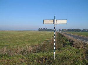 A-signpost